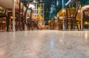 Restaurant-gulv
