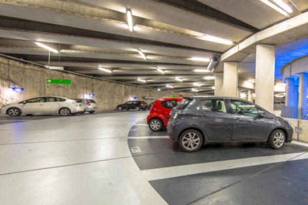 parkeringshus gulv